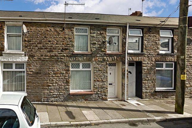 Thumbnail Terraced house to rent in Dumfries Street, Treherbert, Treorchy, Rhondda, Cynon, Taff.