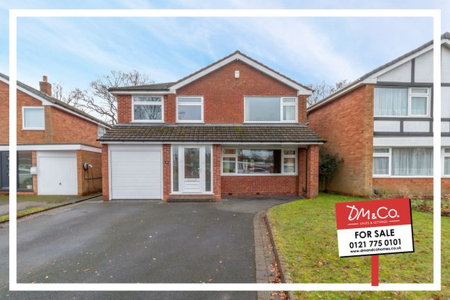 Detached house for sale in Fowgay Drive, Shirley, Solihull