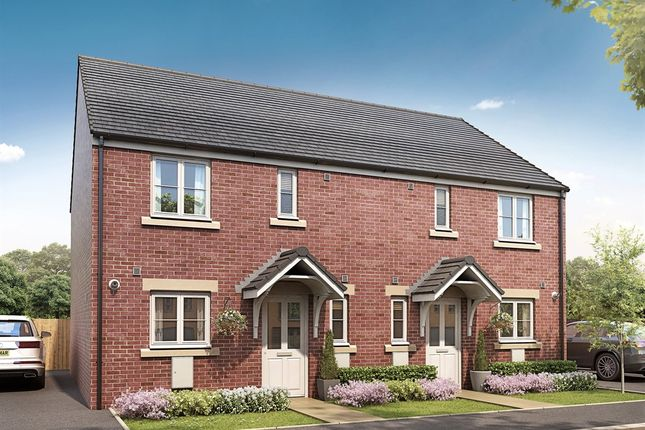 """Thumbnail Semi-detached house for sale in """"The Chester"""" at Ryders Green Road, West Bromwich"""