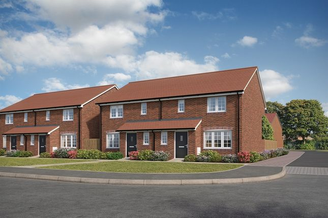 "Thumbnail Semi-detached house for sale in ""The Hanbury"" at Forge Wood, Crawley"