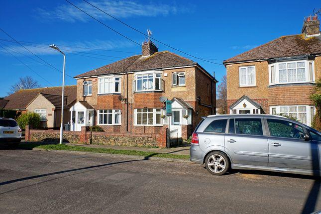 Thumbnail Semi-detached house for sale in Kings Road, Birchington