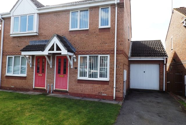 Thumbnail Semi-detached house to rent in Hallgarth, Consett