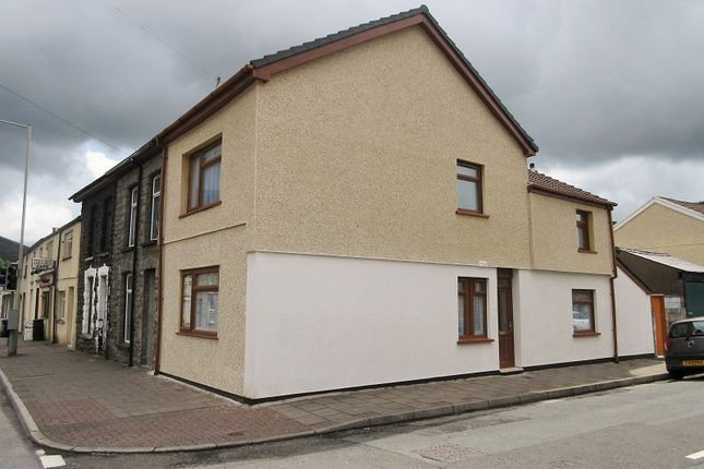 Thumbnail End terrace house to rent in High Street, Treorchy, Rhondda, Cynon, Taff.
