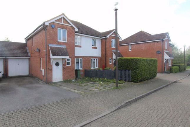 Thumbnail 3 bedroom semi-detached house to rent in Brill Place, Bradwell Common, Milton Keynes