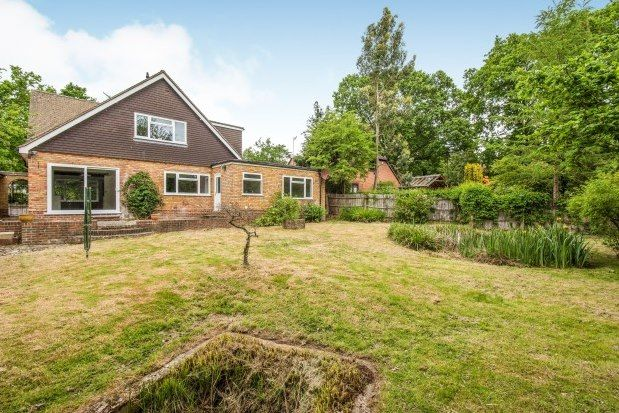 Thumbnail Detached house to rent in Greystones Berry Lane, Guildford