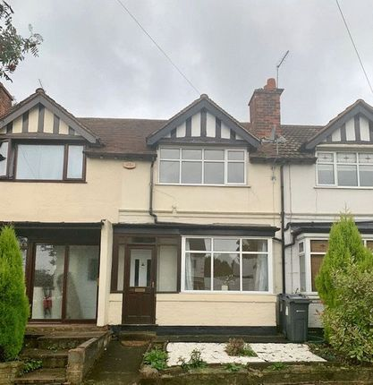 Thumbnail Terraced house to rent in Balden Road, Harborne, - 2 Bed Terrace