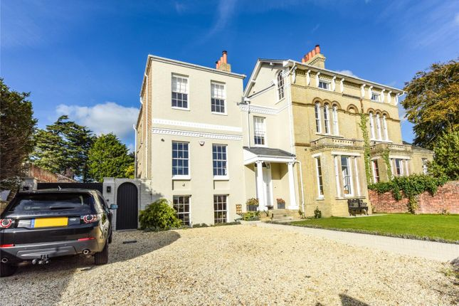 Thumbnail Semi-detached house for sale in Highfield, Lymington, Hampshire