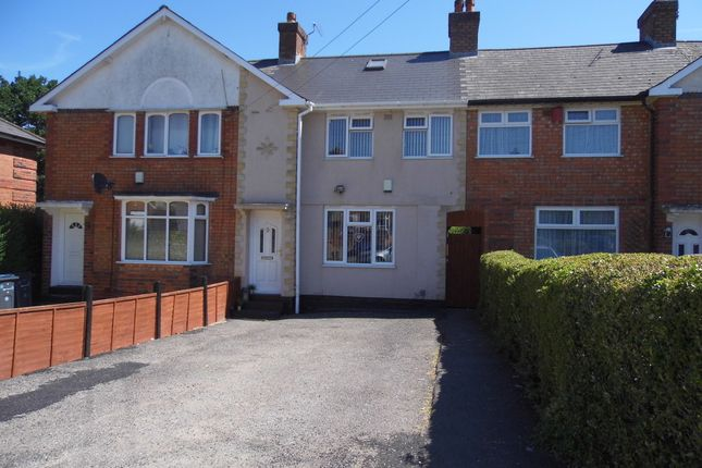 Thumbnail Terraced house to rent in Rise Avenue, Rednal, Birmingham