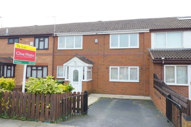 Thumbnail Terraced house to rent in Bramblewood Close, Prenton