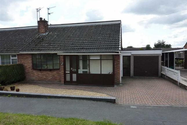 Thumbnail Terraced house to rent in Back Lane, Congleton