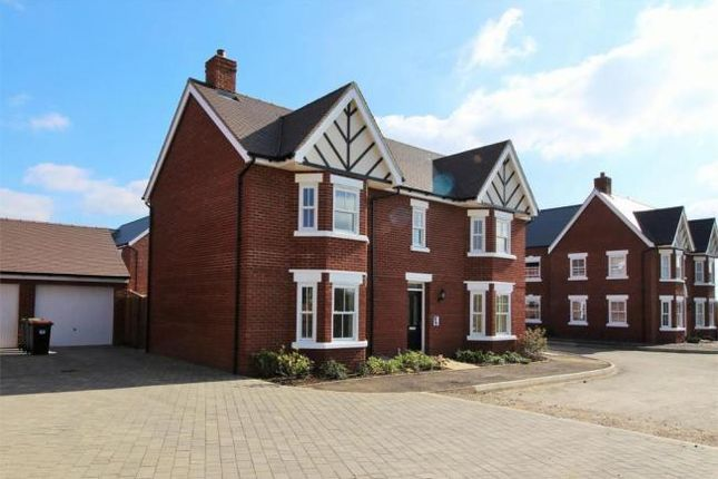 Thumbnail Detached house for sale in Broad Mead Avenue, Great Denham, Bedford