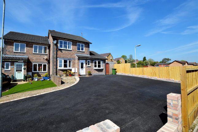 Semi-detached house for sale in Trem Y Garth, Llanharry, Pontyclun