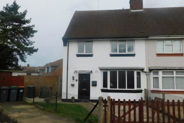 Thumbnail Semi-detached house to rent in Balliol Road, Kempston, Bedford