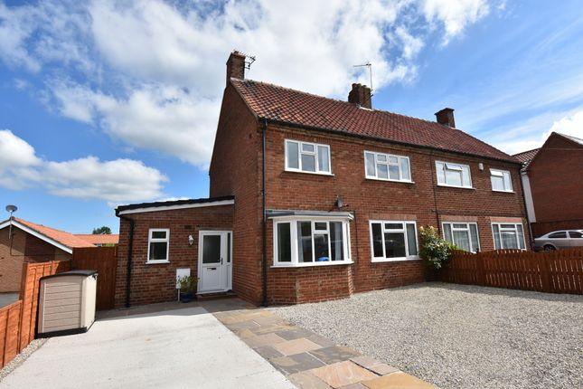 Thumbnail Semi-detached house for sale in Cherry Avenue, Malton