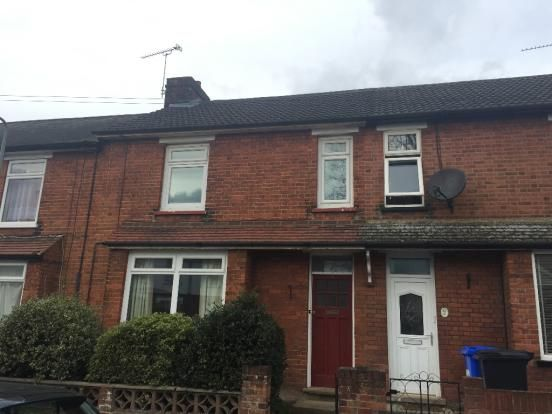 Thumbnail Terraced house to rent in Woodville Road, Ipswich