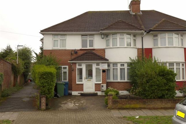 Thumbnail Semi-detached house for sale in Twyford Road, Harrow, Middlesex
