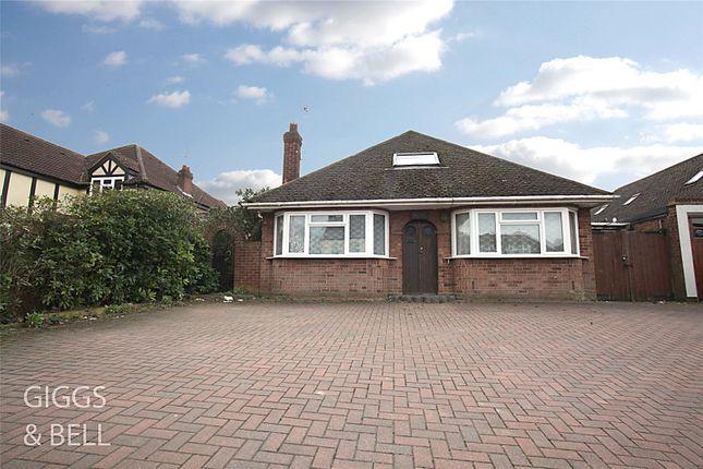 Thumbnail Detached bungalow for sale in Ashcroft Road, Luton, Bedfordshire