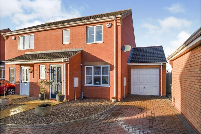 3 bed semi-detached house for sale in Jubilee Close, Cherry Willingham LN3