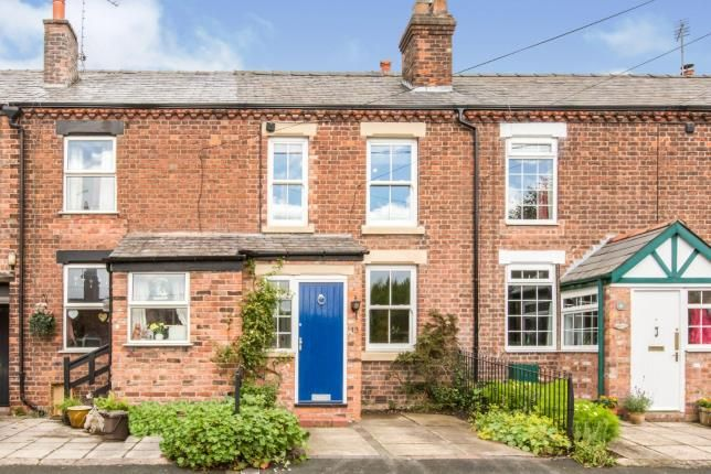 Thumbnail Terraced house for sale in Cogshall Lane, Comberbach, Northwich, Cheshire
