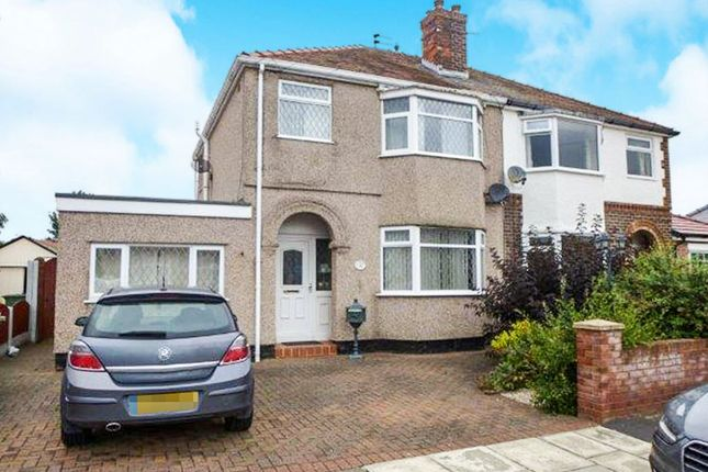 Thumbnail Semi-detached house for sale in Eleanor Road, Moreton, Wirral