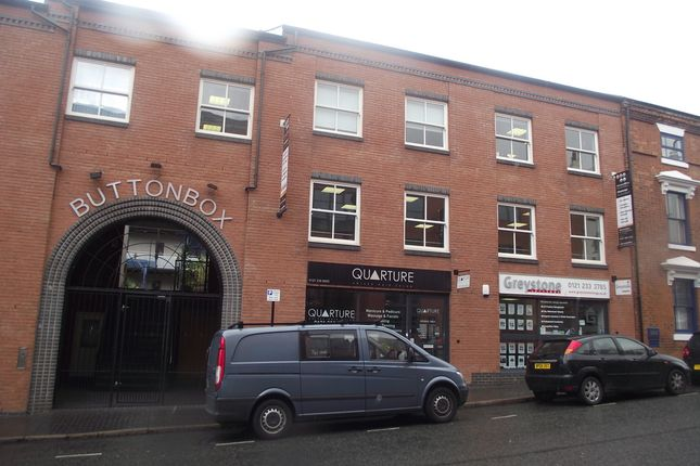 Commercial Property To Rent In Jewellery Quarter Birmingham