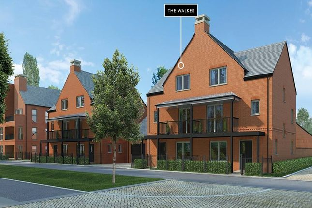 "Thumbnail Semi-detached house for sale in ""The Walker"" at Andover Road North, Winchester"