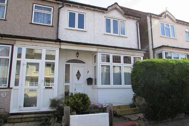 Thumbnail Semi-detached house for sale in Wallace Crescent, Carshalton
