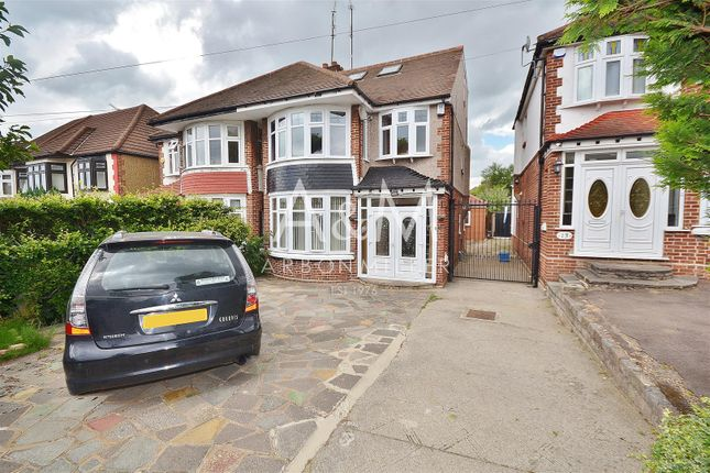 Thumbnail Semi-detached house to rent in Mellows Road, Clayhall, Ilford