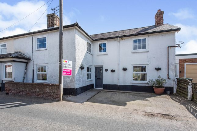 Semi-detached house for sale in Finningham Road, Old Newton, Stowmarket