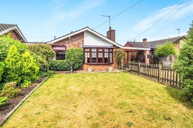 Thumbnail Detached bungalow for sale in Taverham Road, Felthorpe, Norwich