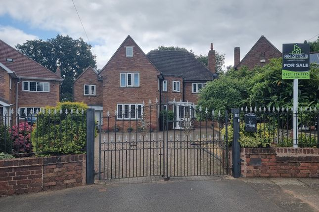 Thumbnail Detached house for sale in Englestede Close, Handsworth Wood, Birmingham