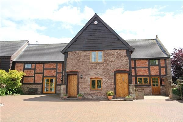 Thumbnail Barn conversion for sale in Linden Hall, Three Ashes, Ross-On-Wye