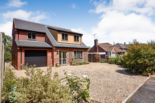 Thumbnail Detached house for sale in Hilly Plantation, Thorpe St. Andrew, Norwich