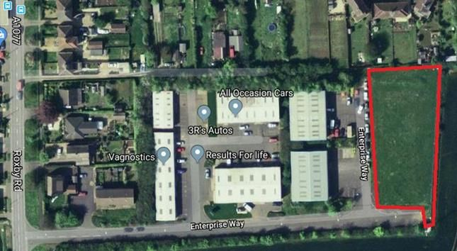 Thumbnail Land to let in Land, Roxby Road Industrial Estate, Enterprise Way, Winterton, North Lincolnshire