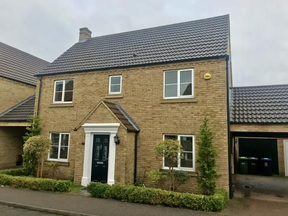 Thumbnail Detached house for sale in Ream Close, Eynesbury, St. Neots, Cambridgeshire