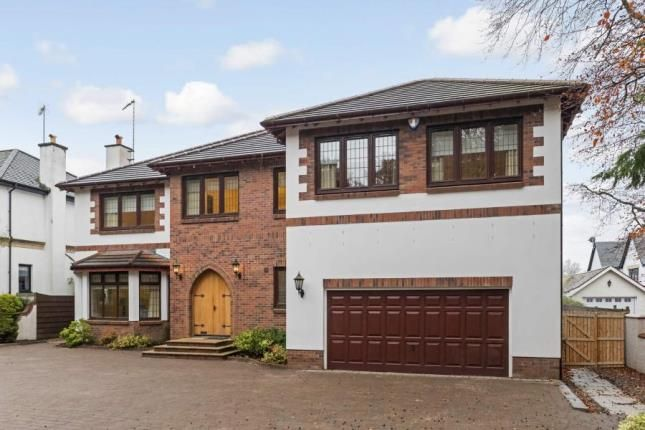 Thumbnail Detached house for sale in Erskine Road, Whitecraigs, East Renfrewshire