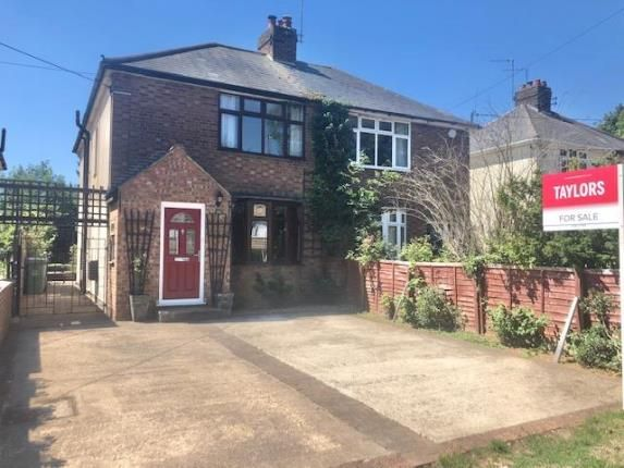 Semi-detached house for sale in Common Road, Kensworth, Dunstable, Bedfordshire