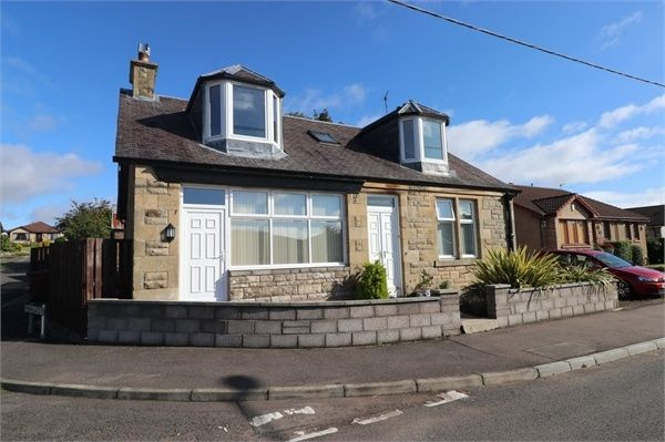 Thumbnail Detached house for sale in Ashbank Cottage With Grannie Flat Annex, Station Road, Springfield, Fife