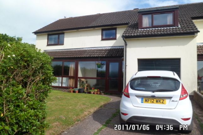 Front Aspect  of Franklea Close, Ottery St. Mary EX11