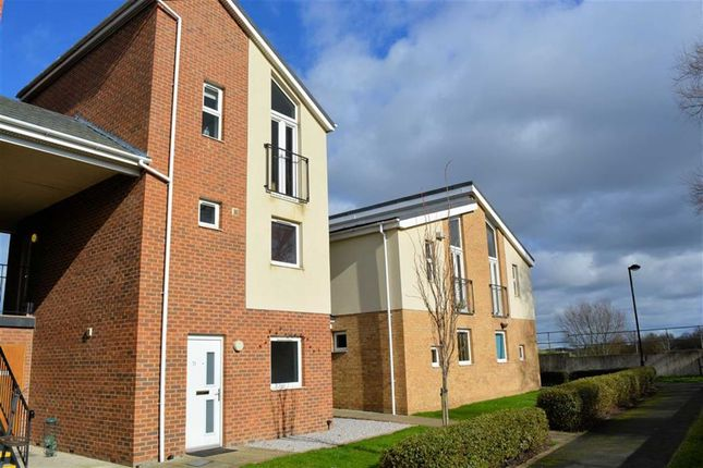 Thumbnail Flat for sale in Clogmill Gardens, Selby