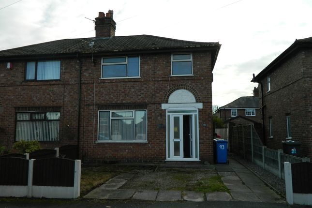 Thumbnail Semi-detached house to rent in Henshall Avenue, Latchford