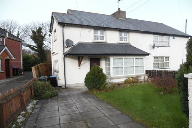 Thumbnail Semi-detached house to rent in Glebe Road West, Newtownabbey