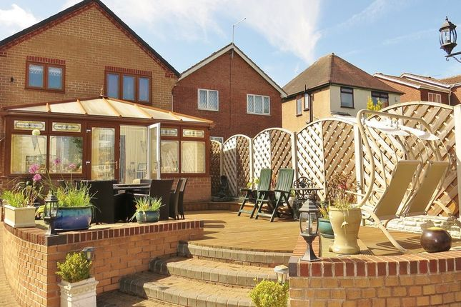 Thumbnail Detached house for sale in Hazel Drive, Wingerworth, Chesterfield