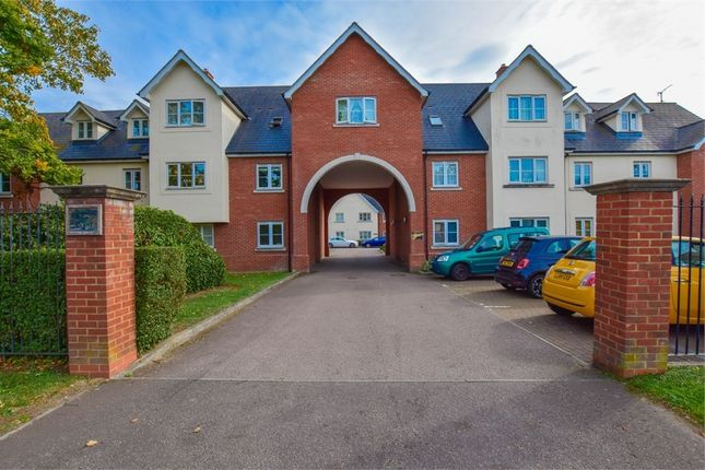 Thumbnail Flat for sale in Vicarage Court, Shrub End Road, Colchester, Essex
