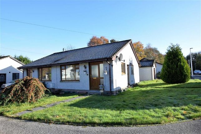 Thumbnail Semi-detached bungalow for sale in Braeface Park, Alness, Ross-Shire
