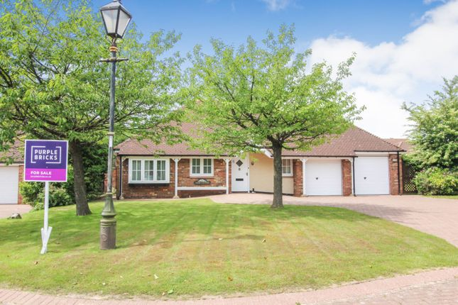 Thumbnail Detached bungalow for sale in Blaise Garden Village, Hartlepool