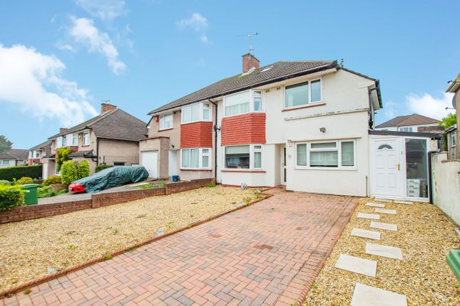 Thumbnail Semi-detached house for sale in Ravenscourt Close, Cardiff, Glamorgan
