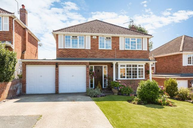 Thumbnail Detached house for sale in Swallow Drive, Hazlemere, High Wycombe
