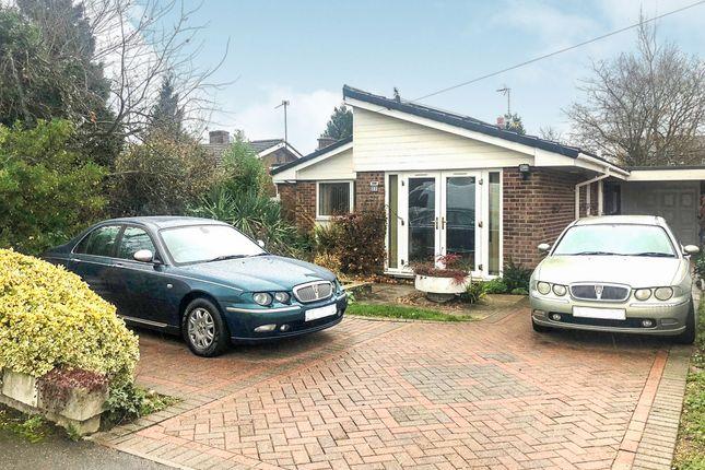 Thumbnail Detached bungalow for sale in The Ridings, Desborough, Kettering