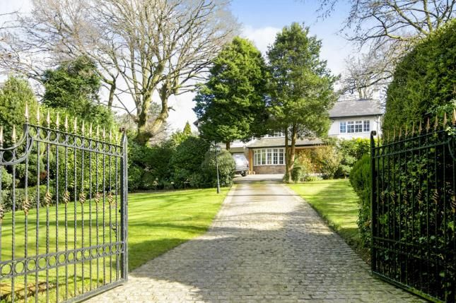 Thumbnail Detached house for sale in Congleton Close, Alderley Edge, Cheshire